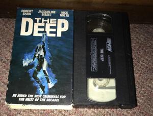 THE DEEP Vhs Robert Shaw Cult Adventure Mystery Thriller