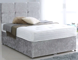 WINTER SALE!! Custom made Divan bed set with luxury mattress and FREE