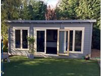 scandinavian log cabin