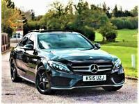 2015 Mercedes-Benz C Class 1.6 Auto C200 BlueTEC (43k) AMG Premium+ PLUS. (PX OK