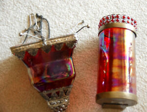 Moroccan Style Glass Hanging Tealight Holders