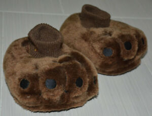 Walk-E Talk-E Plush Puppy Dog Slippers Sz 6-9 *ACTUALLY BARK*