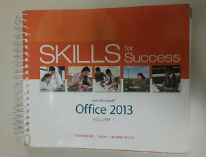 Skills for Success with Microsoft Office 2013 vol 1
