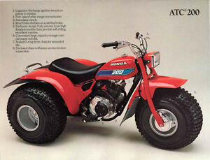 papers for Honda ATC