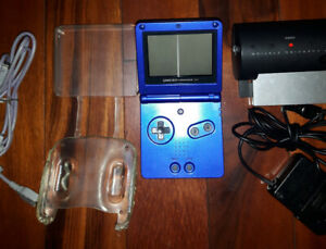 Game boy advance sp bundle with games