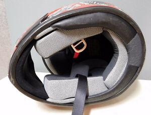 Red Skull Full Face Dirt Bike Helmet London Ontario image 6