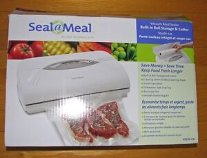 SCELLEUSE...neuf¨SEAL-A-MEAL¨new...VACUUM FOOD SEALER