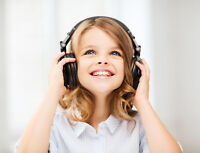 INTRO TO INSTRUMENTS CLASSES - ages 4-7 - SPRING CLASS!