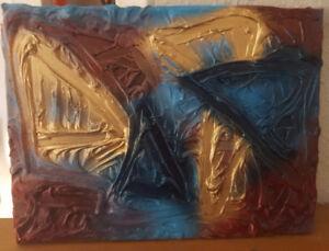 Textured Abstract Art