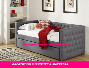 SINGLE SIZE DAY BED WITH PULL OUT BED...$499..DEAL OF THE WEEK!