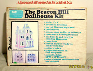 The beacon hill dollhouse kit mint in factory sealed box