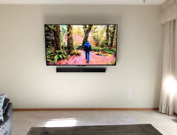 Tv wall mounting installation-same day service