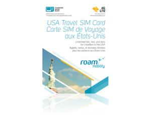 Brand New Roam SIM card (USA Travel SIM Card