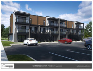 New and modern apartments in AYLMER (3 1/2 &4 1/2)