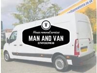 Man and van ,house removals ,store pickups ,removal service