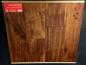 Handscraped exotic walnut hardwood - tan