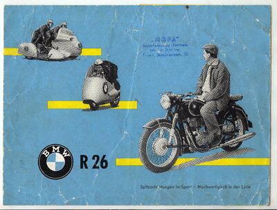 Katalog: BMW R 26, Spitzenleistungen im Sport, used for sale  Shipping to United Kingdom