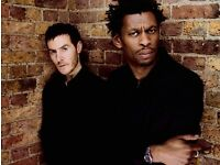 4 Massive Attack tickets 3rd Sept £130 for the pair
