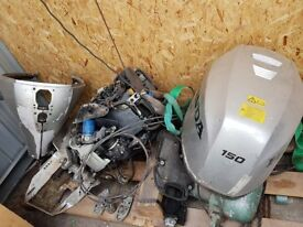 Honda engine 150hp spares or repairs