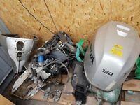 Honda engine 150hp spares or repairs