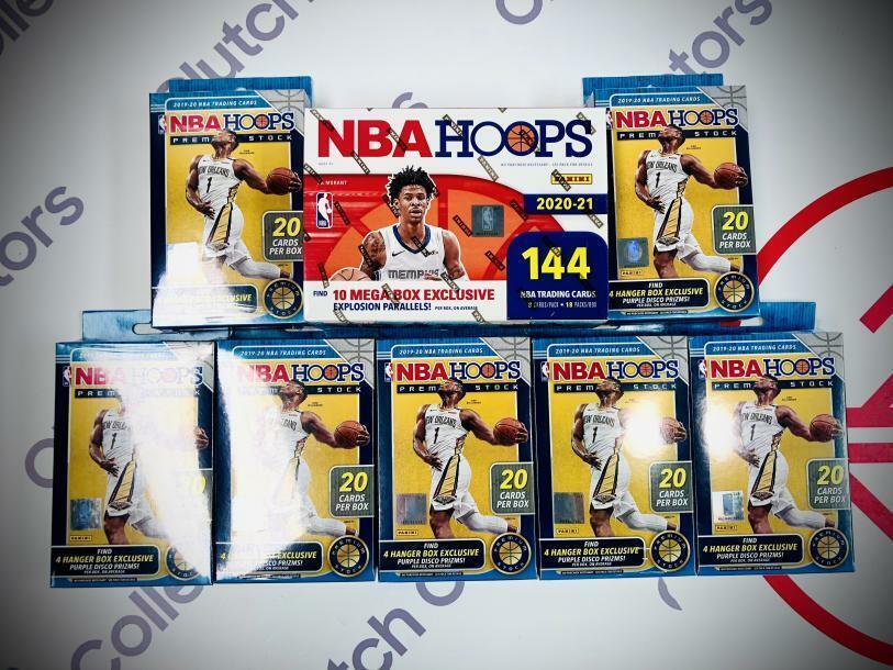 Atlanta Hawks NBA Hoops Mixer Live Box Break 73 - $12.49