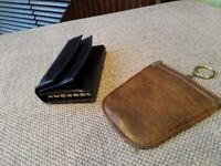 Real Leather Key Ring Purse & Key Ring Zipped Purse - buy 1 & get 1 free