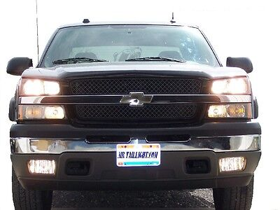 03 06 Chevy 8 Light High Beam, Fog & DRL Conversion Kit 04 05 07 GMC