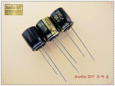 10pcs Panasonic Fm Series 330uf25v Ultra Low Internal Resistance Capacitor