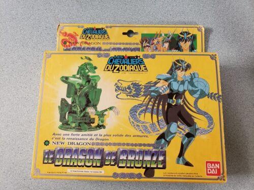 1987 Knights of Zodiac Bronze Dragon SHIRYU Cloth Saint Seiya Bandai Opened