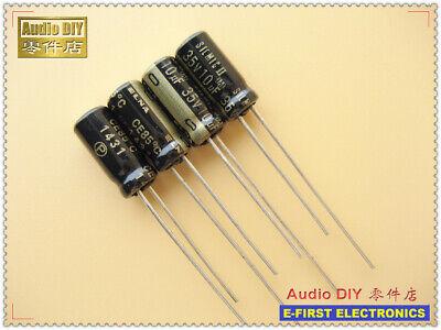 10pcs100pcs Elna Silmic Ii 10uf35v 10uf 5x11mm Audio Electrolytic Capacitor