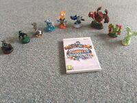 Nintendo Wii Skylanders Giants bundle