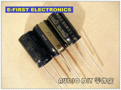 2pcs20pcs Elna Silmic Ii 100uf35v 100uf 10x20mm Audio Electrolytic Capacitor