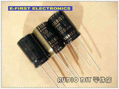 2pcs20pcs Elna Silmic Ii 100uf50v 100uf 12.5x20mm Audio Electrolytic Capacitor