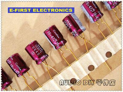 2pcs20pcs Elna Gold-plated Feet Cerafine 47uf16v Audio Electrolytic Capacitor