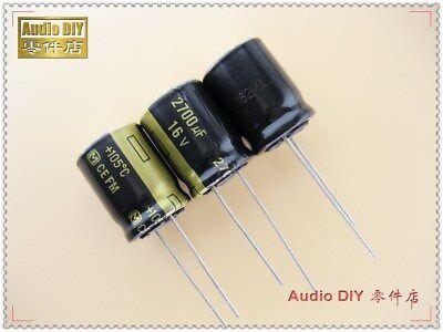 10pcs Panasonic Fm Series 2700uf16v Ultra Low Internal Resistance Capacitor