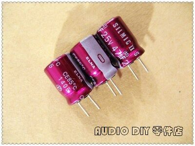 5pcs Elna Purple Robe Silmic Ii Generation 47uf25v Audio Electrolytic Capacitor