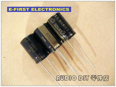 2pcs20pcs Elna Silmic Ii 47uf50v 47uf 10x16mm Audio Electrolytic Capacitor