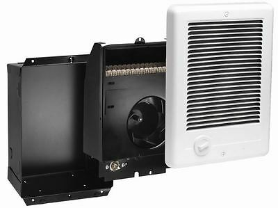- Recessed Mount In-Wall Fan Forced Electric Heater 1500Watt 120V Thermostat Grill