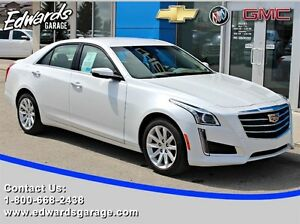 2015 Cadillac CTS 2.0L Turbo Htd/Cld Seats Nav AWD 0.9% Avail