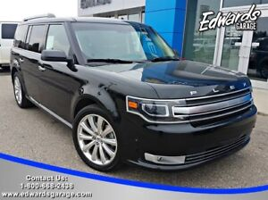2013 Ford Flex Limited Adaptive Cruise Htd/Cld Seats Park Assist