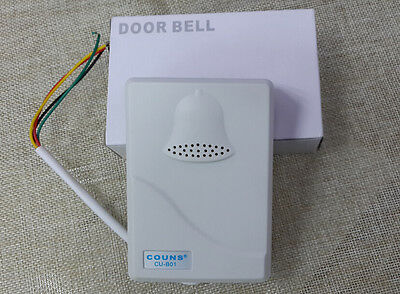 wired door bell doorbell chime home office security for