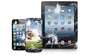 Réparation cellulaire vitre LCD iPhone iPad LG..repair