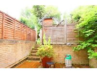 BEAUTIFUL LARGE 2 BEDROOM FLAT WITH PRIVATE GARDEN NEAR ZONE 2 TUBE, 24 HOUR BUSES & SHOPS