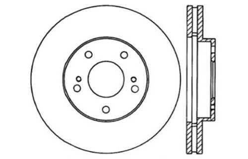 Fit 1987-1989 Nissan 300ZX Front HartBrakes Blank Brake Rotors+Ceramic Brake Pad