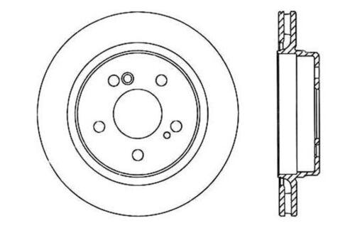 C-TEK Standard Disc Brake Rotor-Preferred fits 1992-1995 Mercedes-Benz 400E E420