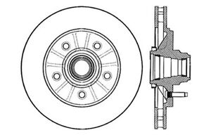 Disc Brake Rotor-Drilled and Slotted Brake Rotors Centric