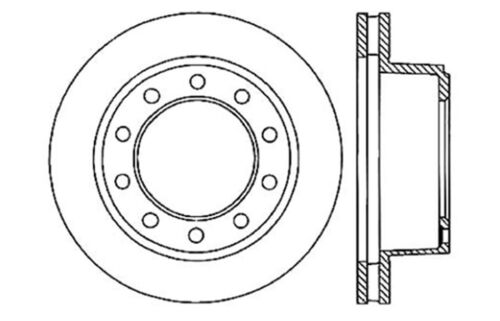 Disc Brake Rotor Centric 121 66018 Fits 00 03 Workhorse P30