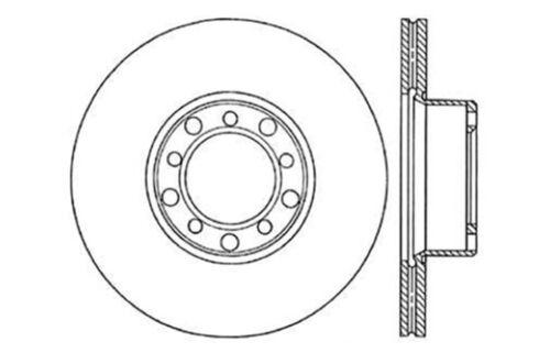 Disc Brake Rotor fits 1973-1978 Mercedes-Benz 450SEL,450SL