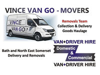 VINCE VAN GO MOVERS: House, Flat, Removals in Bath, Single Items, Furniture Delivery, Man and van
