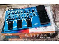 BOSS ME50 multi effects pedal